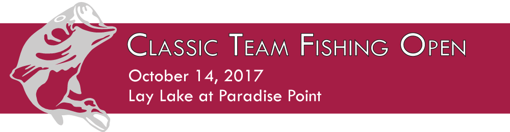 Classic Team Fishing Open, October 14, 2017, on Lay Lake at Paradise Point